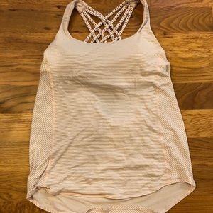 Lululemon Workout Top - built in bra